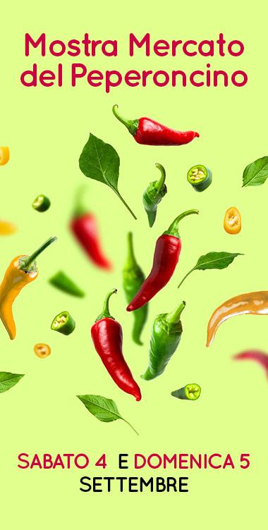 """Un weekend piccantemente colorato per la """"Festa del peperoncino"""""""